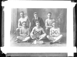 Photograph of the St. Francis Xavier University basketball team