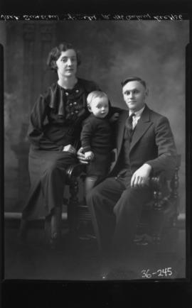 Photograph of Jack Swallow  Jack and his family