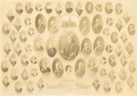 Composite photograph of the Dalhousie University Arts, Science and Engineering class of 1911