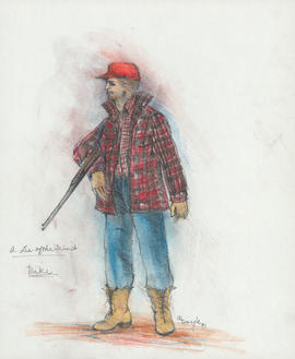 Costume design for Mike