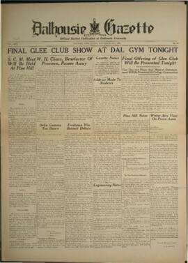 Dalhousie Gazette, Volume 66, Issue 10