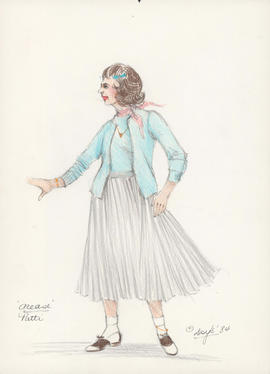 Costume design for Patti