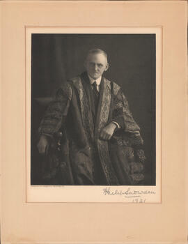 Photograph of Philip Snowdon, British Chancellor of the Exchequer