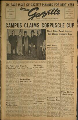 Dalhousie Gazette, Volume 85, Issue 29