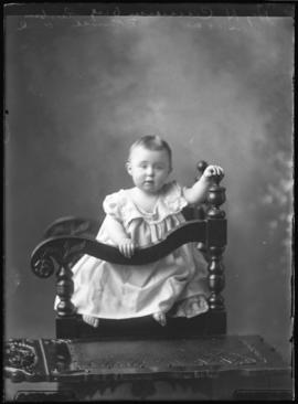 Photograph of Mr. Henry H. Cameron's baby