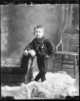 Photograph of the son of Mr. and Mrs. Alex Fraser