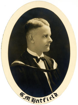 Portrait of George Murray Lewis Hatfield : Class of 1927