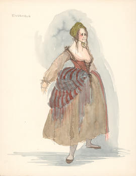 Costume design for ensemble : woman