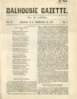 Dalhousie Gazette, Volume 4, Issue 7