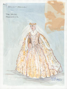 Costume design for The Bride : Prologue