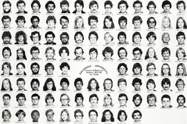 Composite photograph of the Faculty of Medicine - First Year Class, 1977-1978