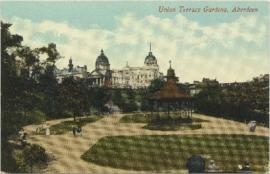 Postcard of the Union Terrace Gardens, Aberdeen