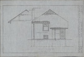Drawing by Andrew R. Cob of the Plan for the Antigonish exchange building