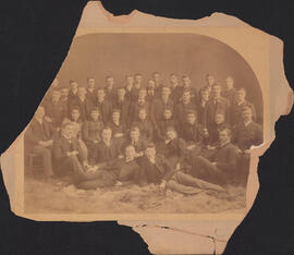 Photograph of the class of 1894