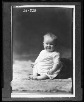Photograph of the baby of Mrs. Leo McCarron
