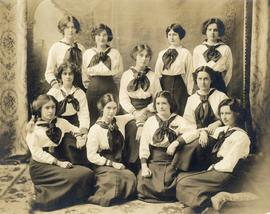 Photograph of students from the Halifax Ladies College
