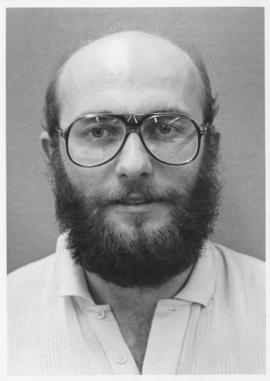 Photograph of the Students' Psychology Society President Mac Fadgen