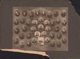 Composite photograph of the Dalhousie University arts and science faculty and class of 1902