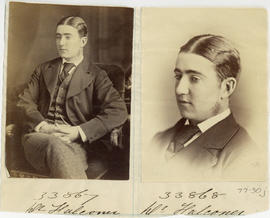 Portraits of Dr. Falconer from the Medical Society of Nova Scotia