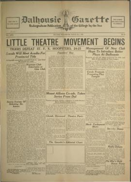 Dalhousie Gazette, Volume 62, Issue 23
