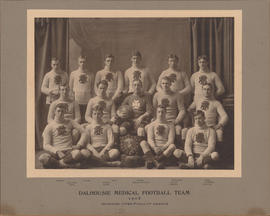 Photograph of Dalhousie Medical football team