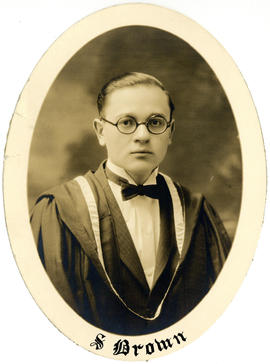 Portrait of S. Brown : Class of 1927