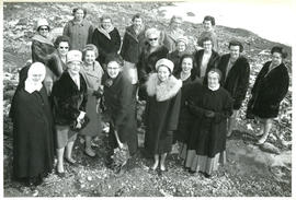 Photograph of Turning of the Sod for Canadain Nurses Association House 1965