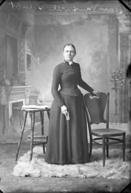 Photograph of Mrs. Maxwell