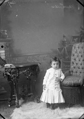 Photograph of Mrs. McMillan's daughter