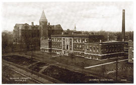 Postcard of University Health Clinic