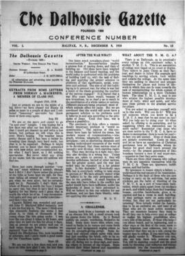 The Dalhousie Gazette, Volume 50, Issue 15