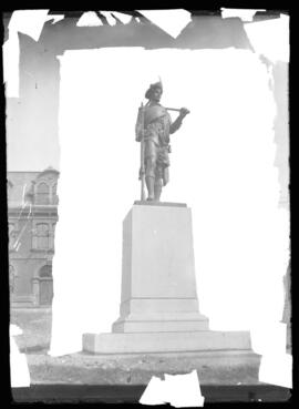 Photograph of the Hector Monument