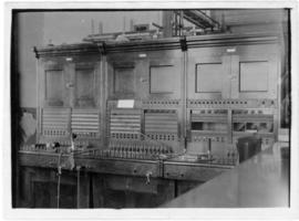 Photograph of the switchboard in Summerside Prince Edward Island