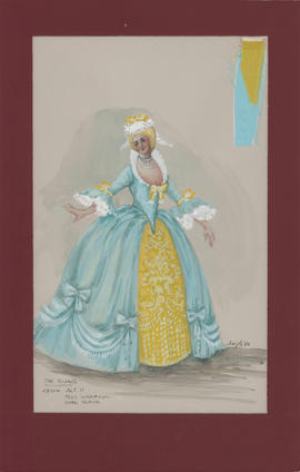 Costume design for Lydia : Act II