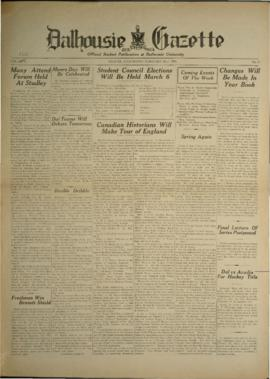 Dalhousie Gazette, Volume 66, Issue 17