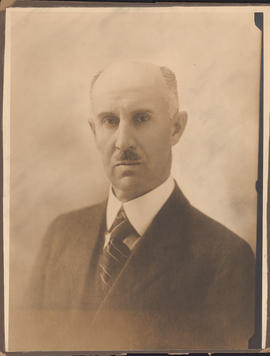 Photograph of Dr. William Harop Hattie, Assistant Dean - Faculty of Medicine