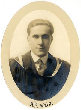 Portrait of Andrew Fraser Weir : Class of 1917