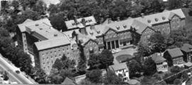 Photograph of an Ariel View of Shirreff Hall