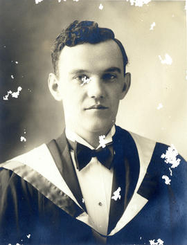 Portrait of John William Denoon - Class of 1931