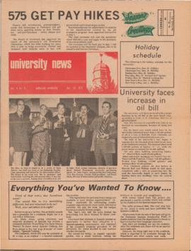 University News, Volume 4, Issue 5