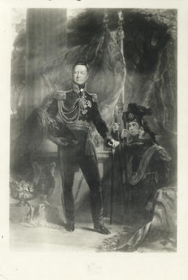 Photograph of a painting of Lord Dalhousie