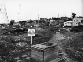 Photograph of a well in Africville