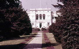 Photograph of the Hammerschmidt Villa