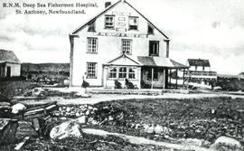 Photograph of Royal National Mission Deep Sea Fishermen Hospital, St. Anthony, Newfoundland.