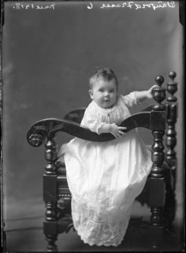 Photograph of Mr. Stanford Fraser's baby