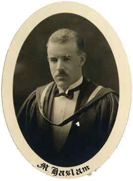 Portrait of Herbert de Montfort Haslam : Class of 1926