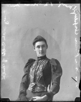 Photograph of Mrs. Isaac Fisher