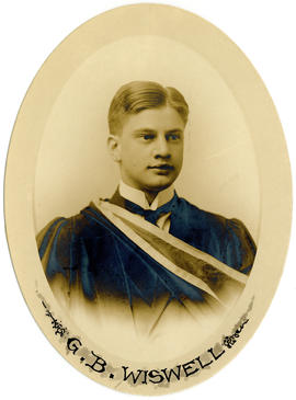 Portrait of Gordon Blanchard Wiswell : Class of 1914