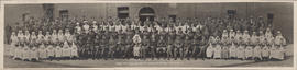 Photograph of the Military Heart Hospital, Colchester - Staff of August 1918
