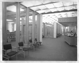Photograph of the lobby in the Sir James Dunn Law Library